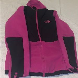 Pink and Black North Face!